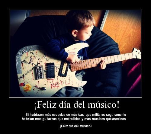 Imágenes De Felíz Día Del Músico Para Felicitar Información Imágenes