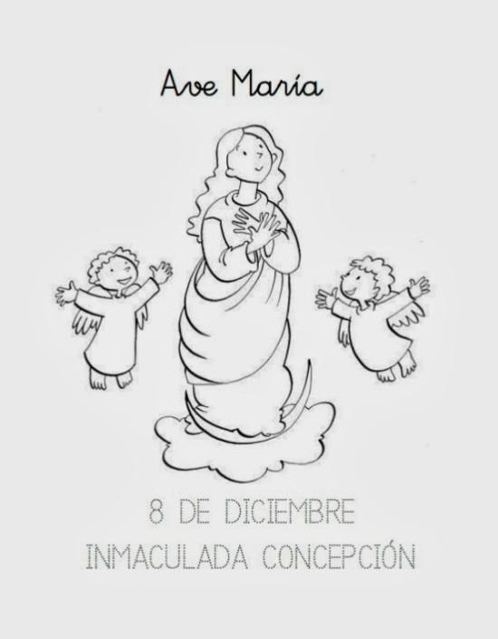 Dibujo Inmaculada 1_
