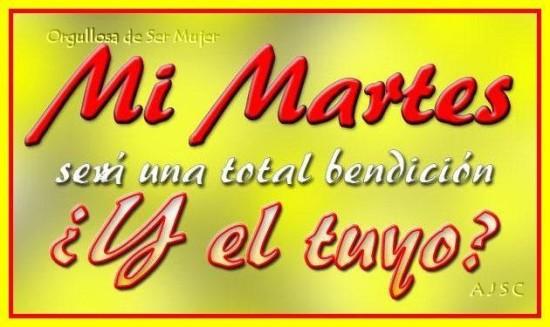 Feliz Martes carteles con mensajes (18)