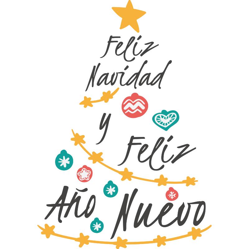 Tarjetas cl sicas para navidad y a o nuevo para imprimir - Frases para felicitar navidad empresas ...