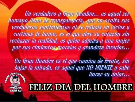 Tarjetas De Feliz Dia Del Hombre Con Frases Y Mensajes Para Dedicar
