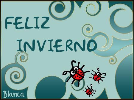 Imágenes con frases de Bienvenido Feliz Invierno  (1)