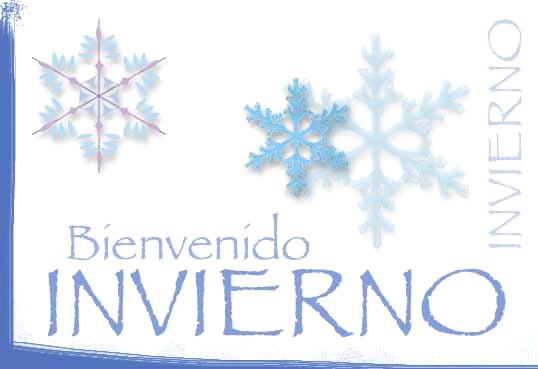 Imágenes con frases de Bienvenido Feliz Invierno  (12)