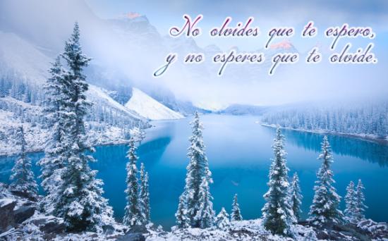 Imágenes con frases de Bienvenido Feliz Invierno  (5)