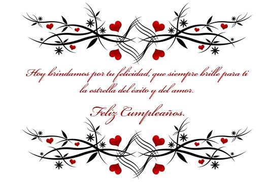 Tarjetas mensajes de Amor Feliz cumpleaños (2)