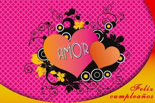 Tarjetas mensajes de Amor Feliz cumpleaños (6)