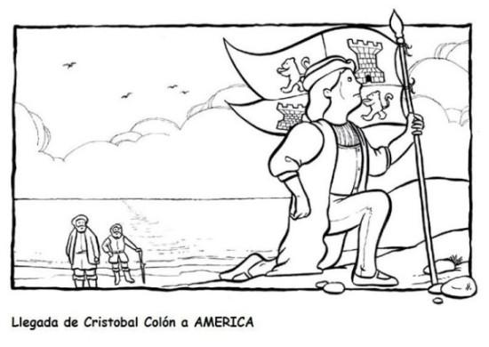 dibujos Descubrimiento de America para colorear (7)