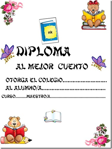 diplomas para niños para dedicar e imprimir (1)