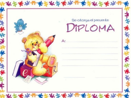 diplomas para niños para dedicar e imprimir (8)