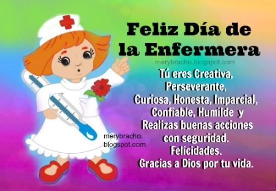 feliz dia enfermera imagenes lindas