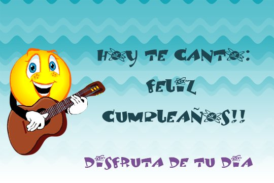 imagenes de Feliz cumpleaños con frase y smile para dedicar (1)