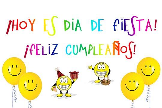 imagenes de Feliz cumpleaños con frase y smile para dedicar (4)