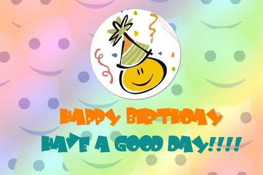 imagenes de Feliz cumpleaños con frase y smile para dedicar (8)