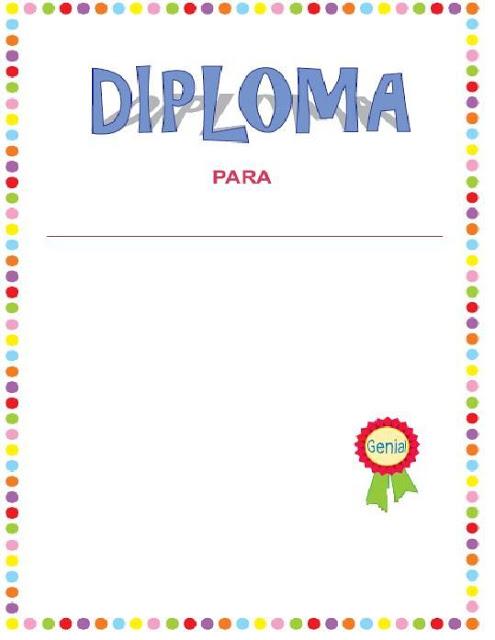 modelos de diplomas para imprimir para niños (3)