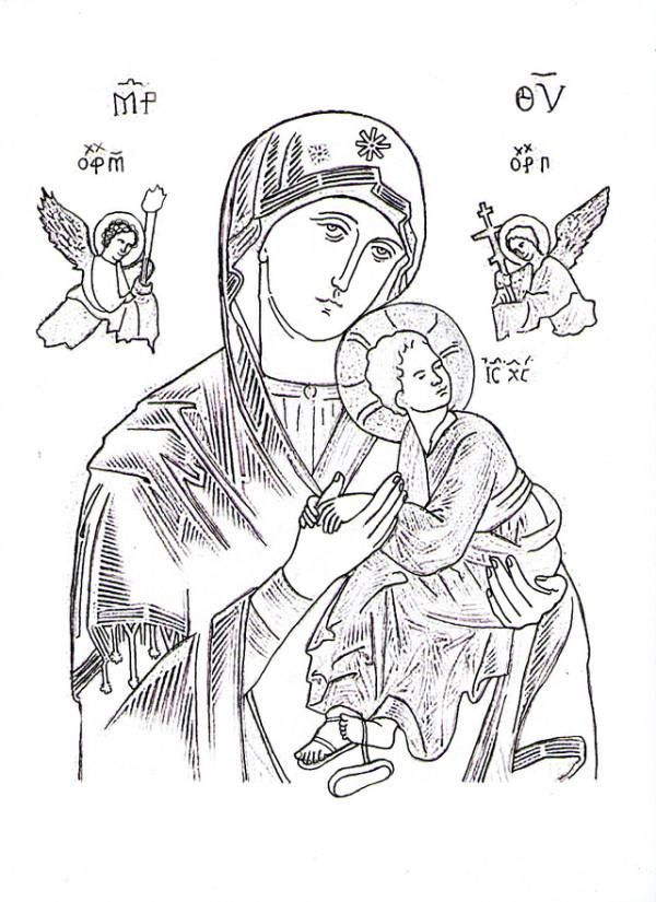 Imagenes Del Dia De La Inmaculada Concepcion De Maria Para Colorear