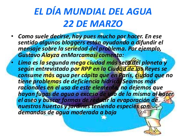 Tarjetas Con Frases Del 22 De Marzo Día Mundial Del Agua Imágenes