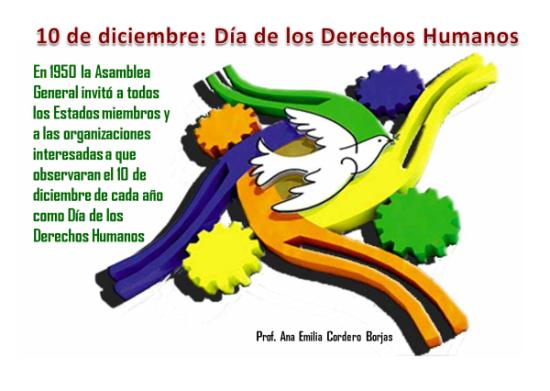 Día de los derechos Humanos imágenes y frases  (2)