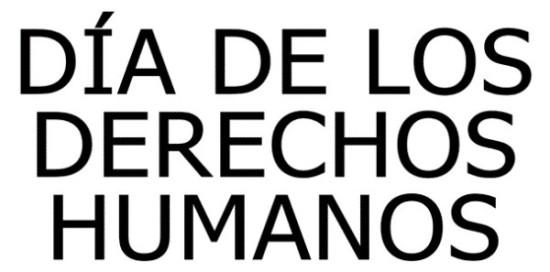 Día de los derechos Humanos imágenes y frases  (7)