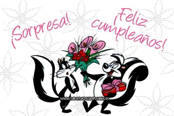 Imágenes con dibujos de Felíz Cumpleaños frases, tarjetas
