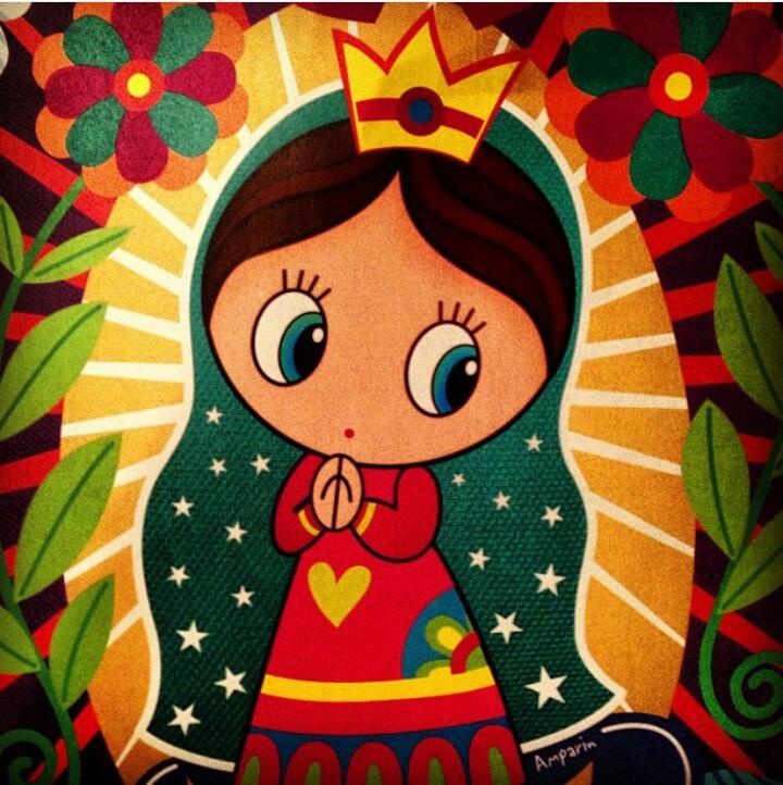 Imagenes De La Virgen De Guadalupe Caricaturizadas Distroller on Dibujos Kawaii Para Colorear
