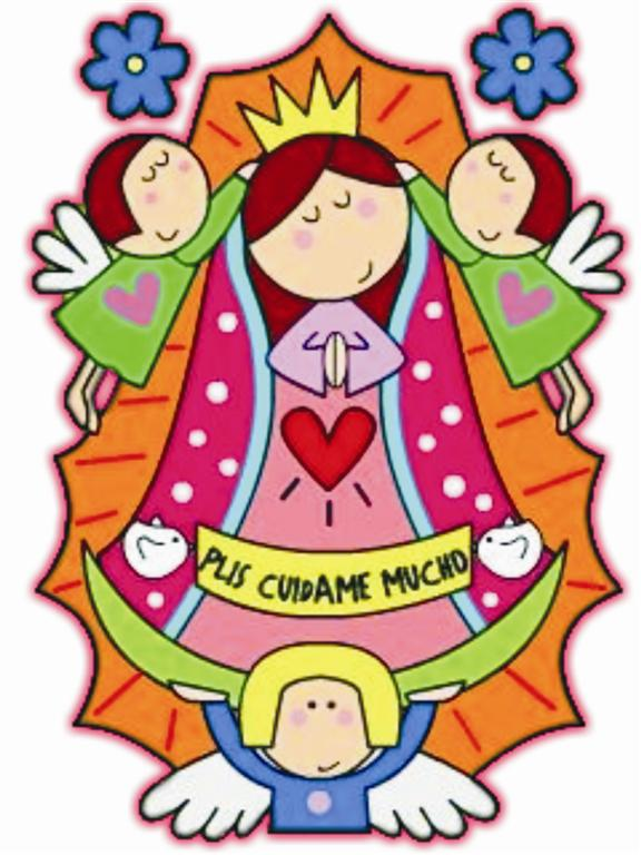 Imágenes De La Virgen De Guadalupe Caricaturizadas Distroller