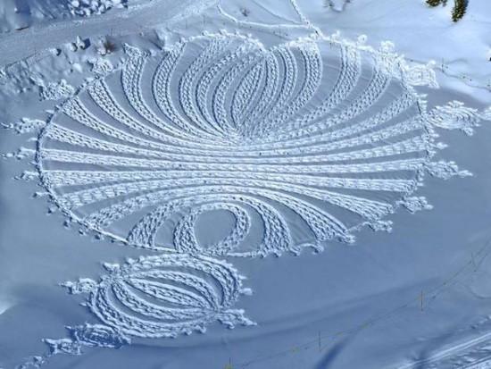arte en la nieve imágenes  (1)