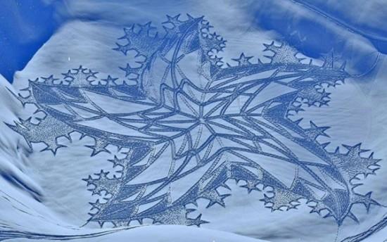 arte en la nieve imágenes  (13)