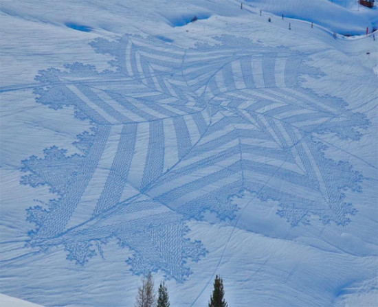 arte en la nieve imágenes  (3)