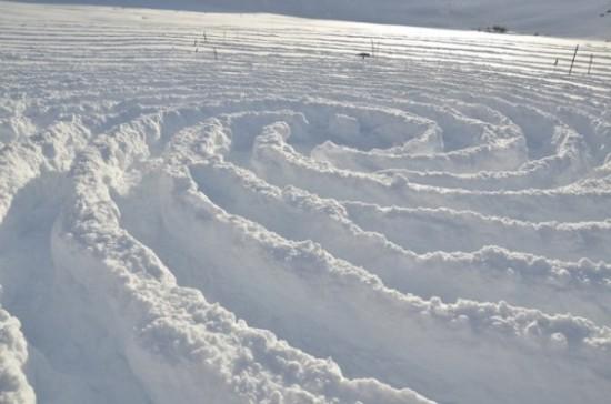 arte en la nieve imágenes  (4)