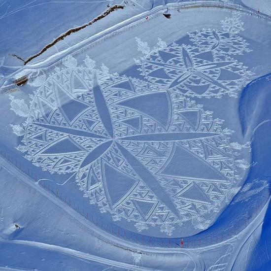 arte en la nieve imágenes  (5)