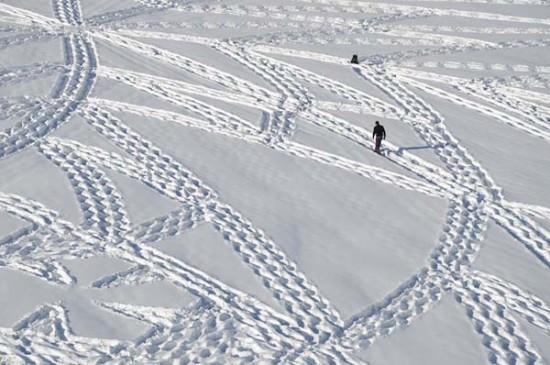 arte en la nieve imágenes  (7)