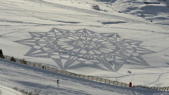 dibujos artisticos en nieve  (3)