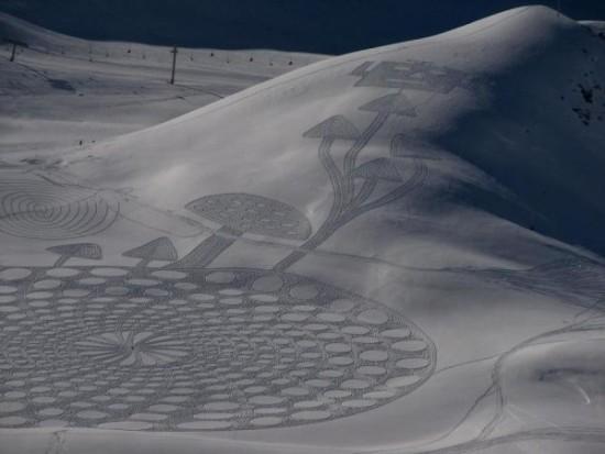 dibujos artisticos en nieve  (4)