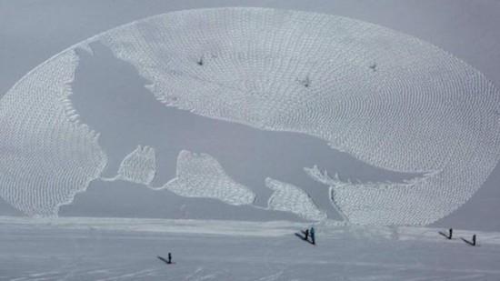 dibujos artisticos en nieve  (7)