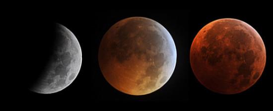 eclipse de luna con fases lunares  (2)