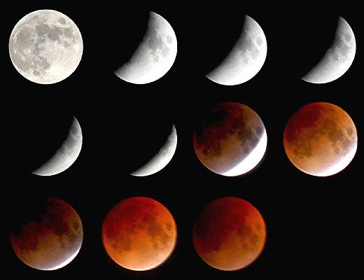 eclipse de luna con fases lunares  (7)