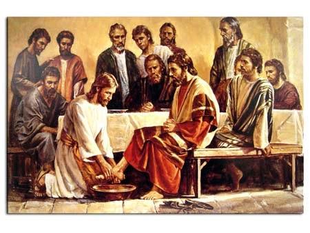 jueves santo lavado de pies