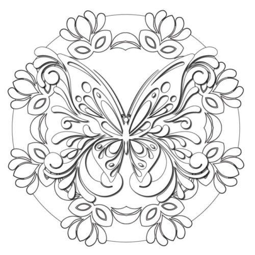 50 Imágenes De Mandalas Para Colorear E Imprimir Con Dibujos Faciles