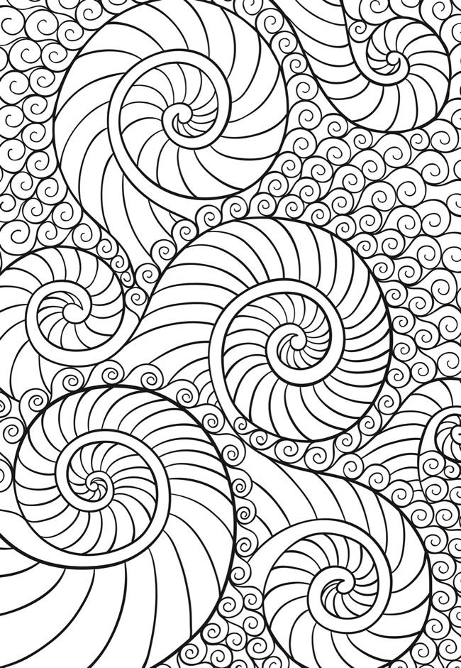 50 im genes de mandalas para colorear e imprimir con dibujos faciles de pintar informaci n - Dibujos juveniles para imprimir ...