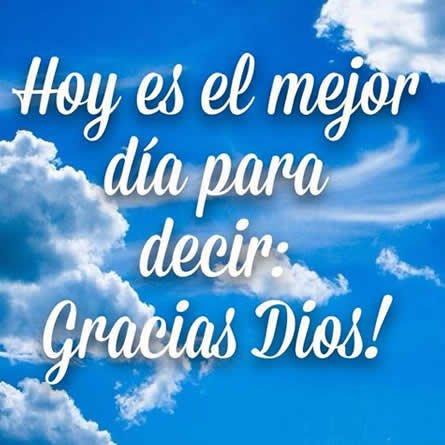 mensajes de agradecimiento a Dios
