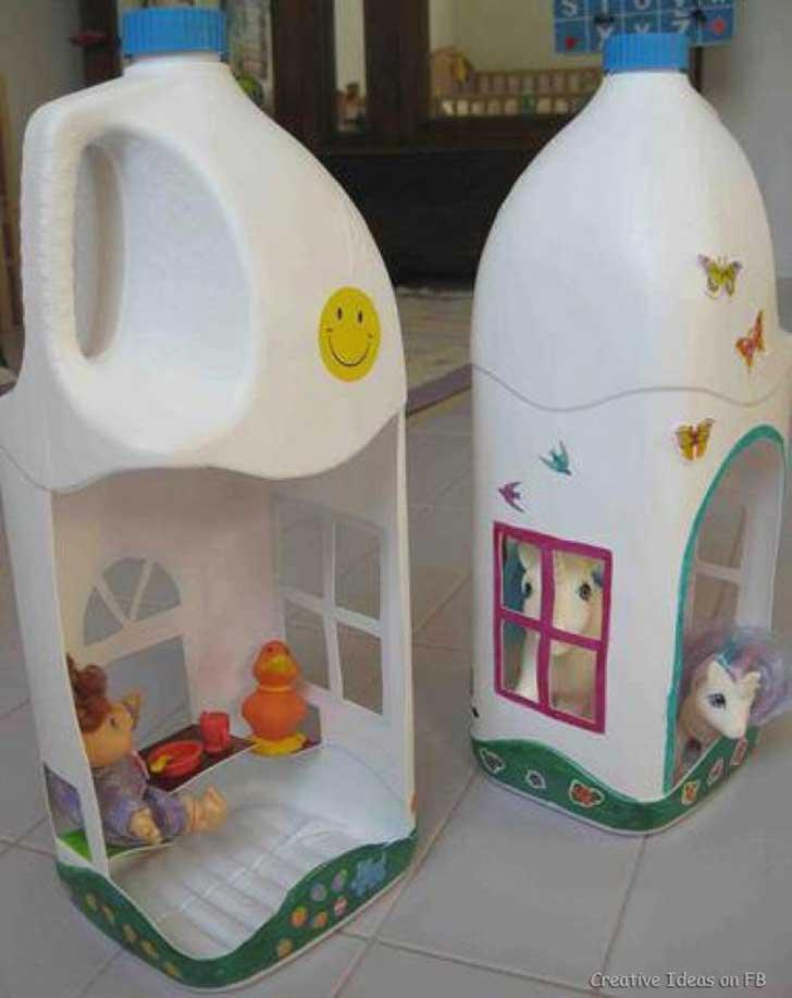 Im genes de juguetes reciclados para ni os hechos a mano for Reciclar cosas para decorar