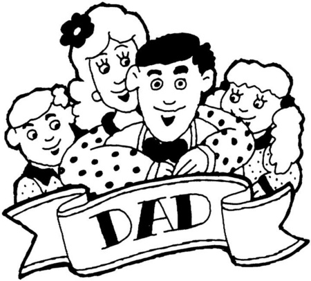 Día de la Familia para colorear imprimir (12)