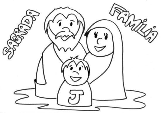 Día de la Familia para colorear imprimir (6)