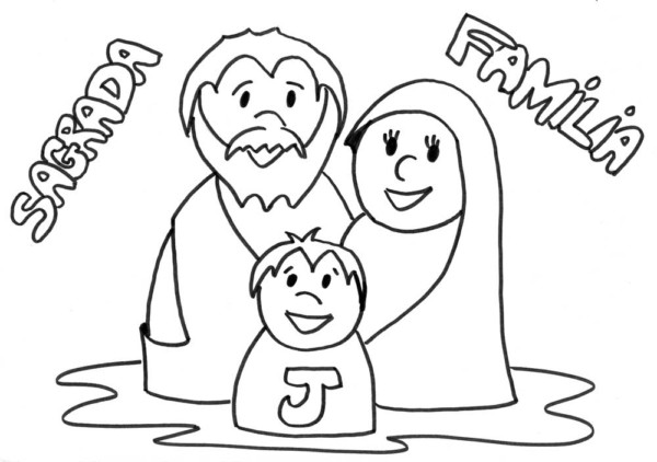 Dibujos De Familia Imágenes Para Colorear Y Pintar: Imágenes Del Día De La Familia Para Pintar, Colorear E