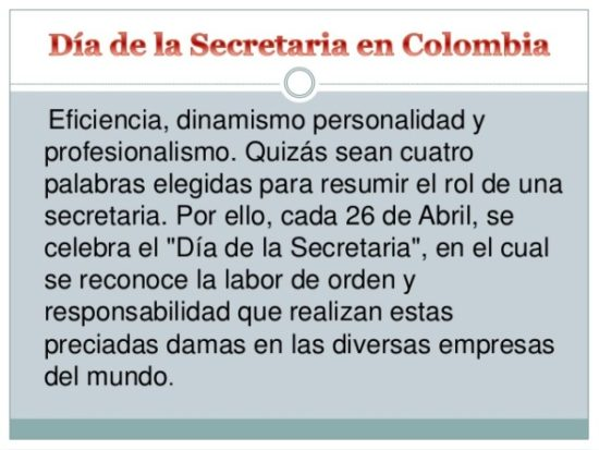 Día de la Secretaria frases - (2)