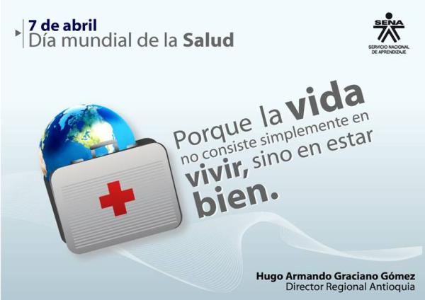 Imágenes Del Día Mundial De La Salud Con Frases Para