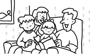 Dibujos de la Familia para colorear  (13)