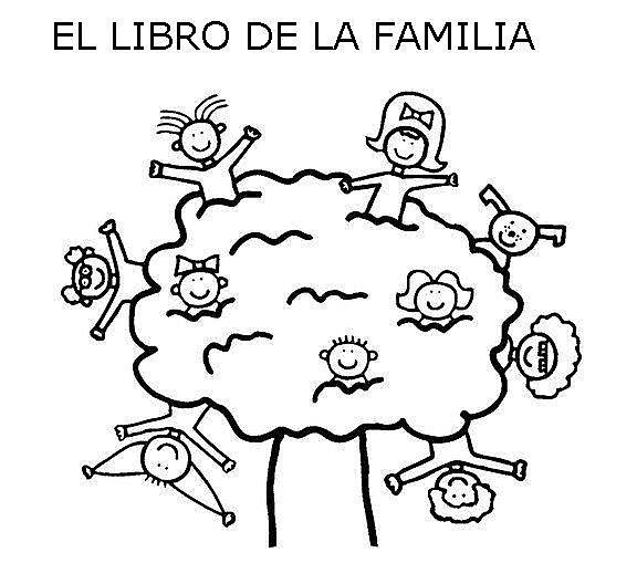 Dibujos infantiles del Día de la Familia para colorear | Información ...