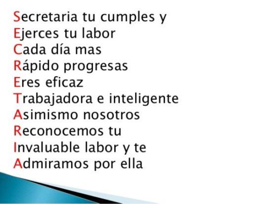 Felíz Día de la Secretaria - (2)