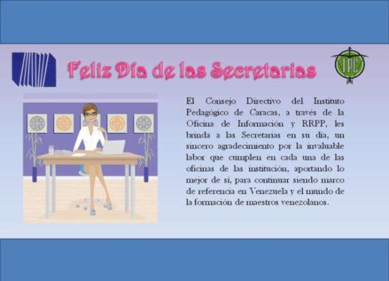 Felíz dia secretarias  (2)